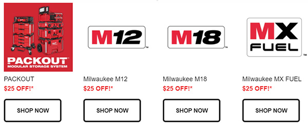 Prime Day 2021 Milwaukee Tool Flash Sale Tool Nut Secondary Banner