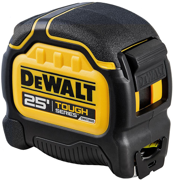 Dewalt Tough Series Tape Measure 25-foot DWHT36925S