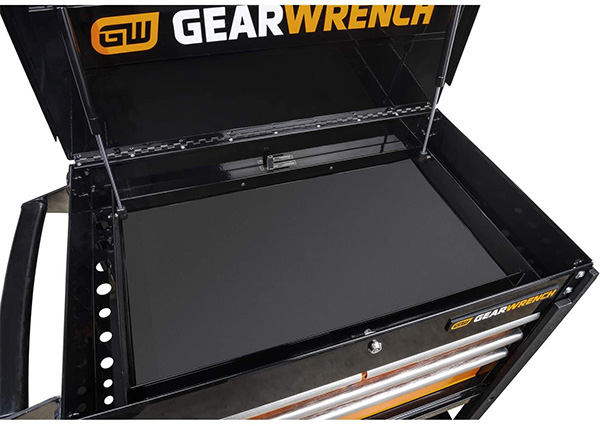 Gearwrench GSX 4-Drawer Tool Cart 83168 Top Storage