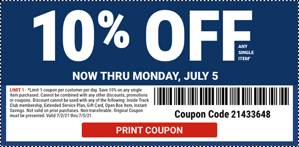 Harbor Freight July 4th 2021 Printable Coupon