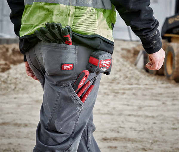 Milwaukee Work Pants Loaded with Tools