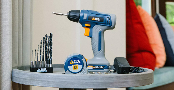 Blue Ridge Cordless Drill Kit and Other Tools Target Image