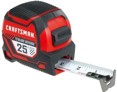 Craftsman Pro Reach Plus Blade Defense Tape Measure 25-Foot Extended