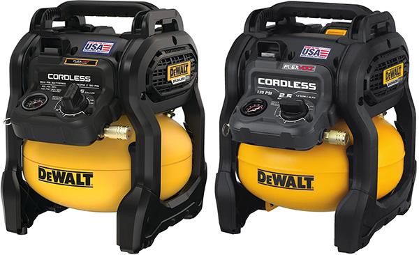 Dewalt 20V Max vs FlexVolt Cordless Air Compressor Comparison
