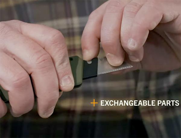 Gerber Prybrid Utility Knife Blade Mechanism