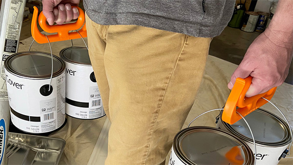 Mammoth Grip Handles Carrying Paint Cans
