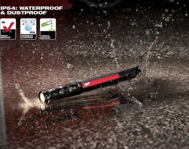 Milwaukee Tool 250L LED Penlight with Laser Pointer Waterproof Rating