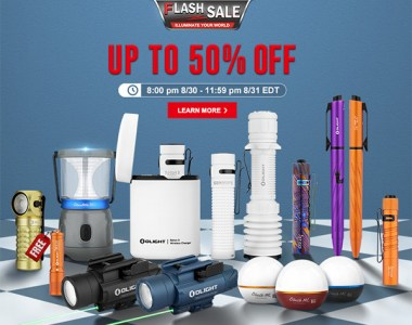 Olight Flash Sale August 2021