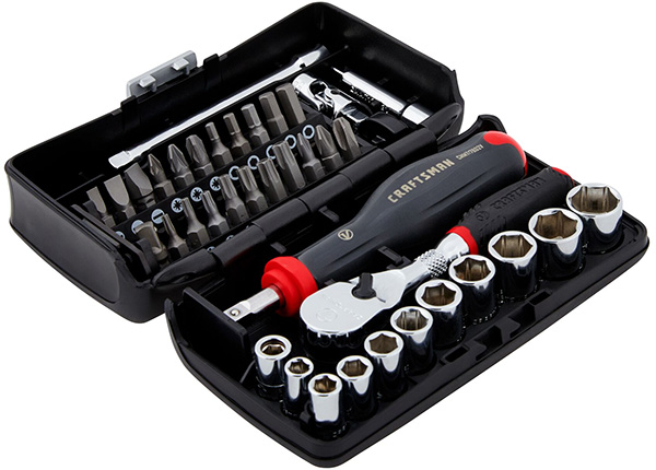 Craftsman V-Series Screwdriver and Mechanics Tool Set