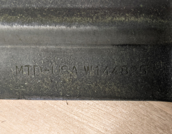 Dewalt 20V Max Push Mower Blade Made by MTD