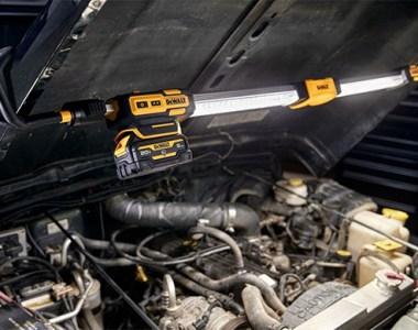 Dewalt DCL045B Underhood Automotive LED Worklight