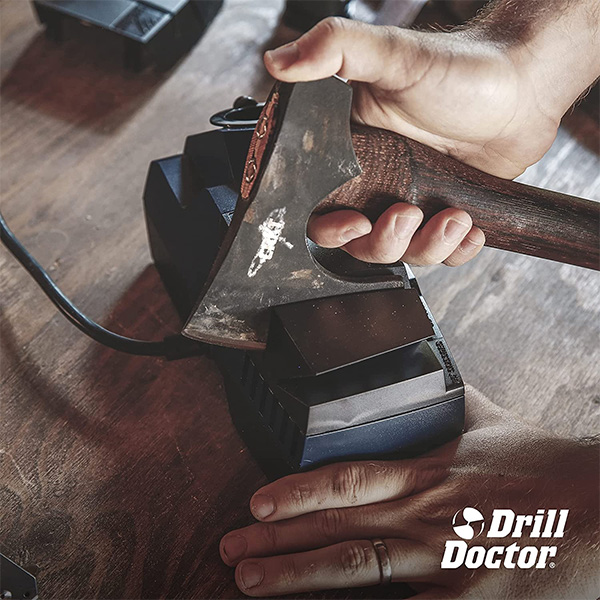 Drill Doctor X2 Drill Bit and Knife Sharpener with Axe