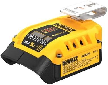 Dewalt DCB094 20V Max USB C Power Charging Adapter