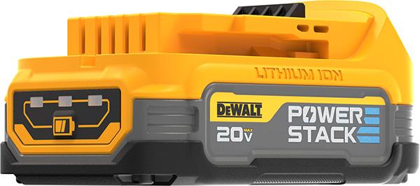 Dewalt PowerStack Cordless Power Tool Battery Fuel Gauge
