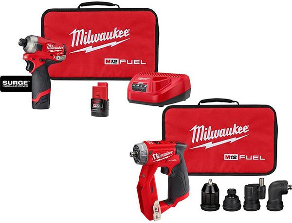 Milwaukee M12 Surge and Installation Driver Promo Bundle