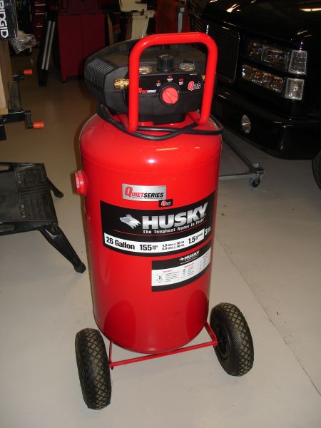 Hands On Huskys 26 Gallon Vertical Air Compressor W6 Tools Toolmonger Page 4