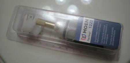 replace a shower faucet cartridge