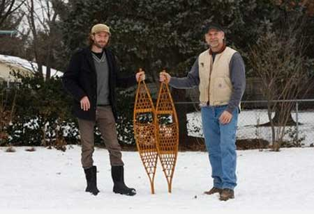 Built Kites; Grand Rapids Kids Build Snowshoes