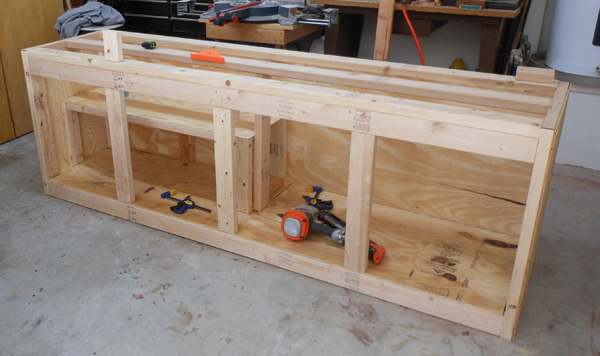 workbench plans storage