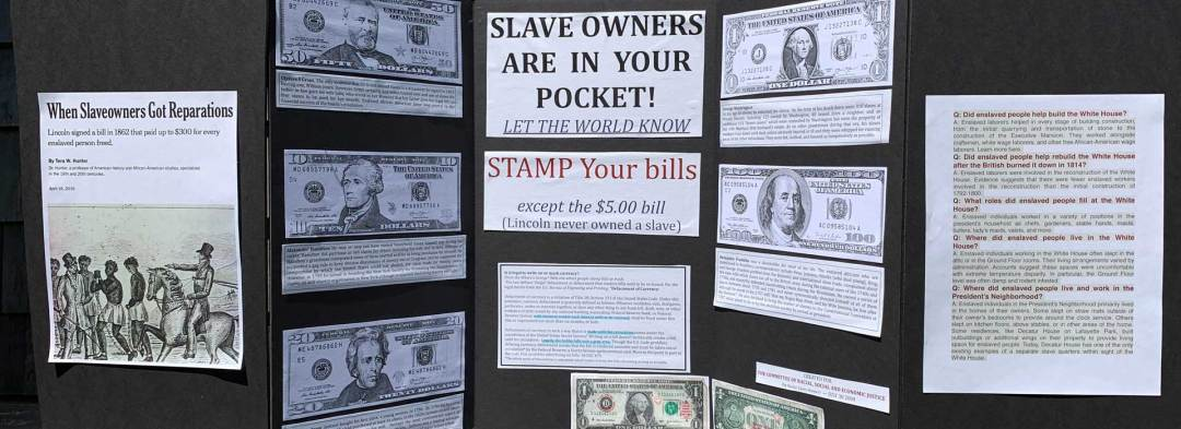 Slave Owners Are in Your Pocket