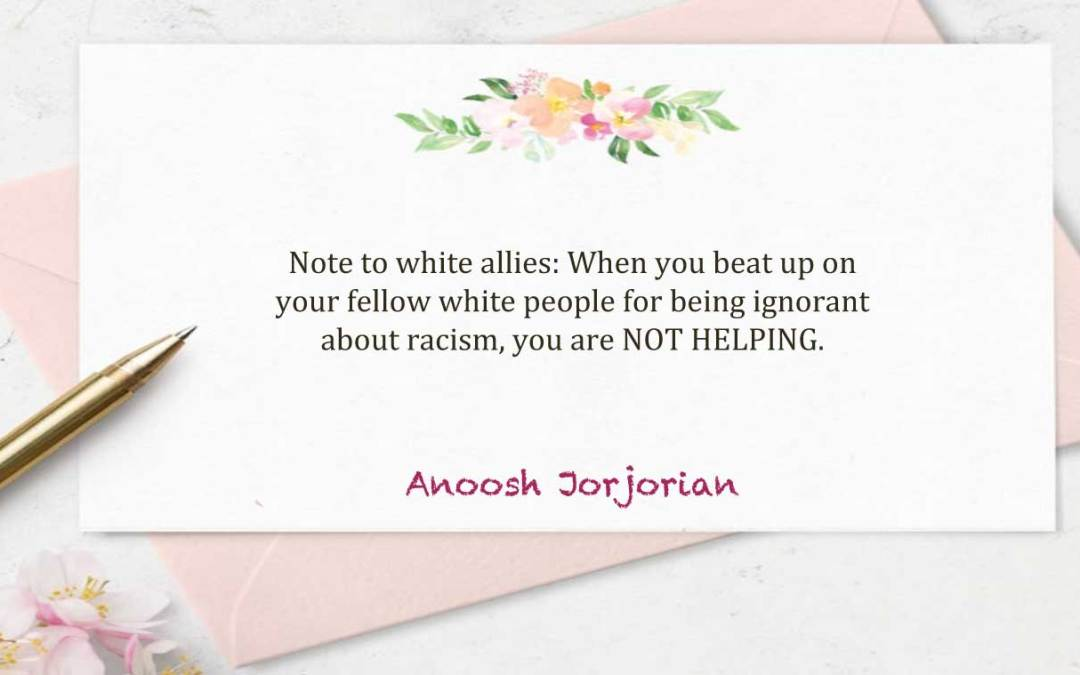 Dear White Allies: Don't Appropriate Our Anger