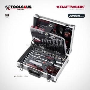 1043 KRAFTWERK maleta aluminio herramientas completo 109 piezas _01