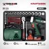 1051 KRAFTWERK maleta aluminio herramientas completo 162 piezas _5