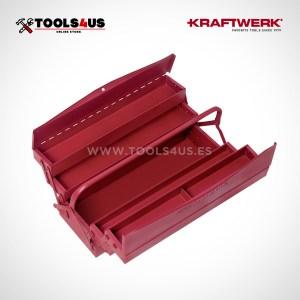 3950-3952 KRAFTWERK caja herramientas metalica clasica compartimentos variados _02