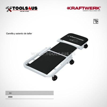 3988 kraftwerk tools camilla asiento de taller garage 2en1 _01