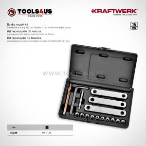 30216 KRAFTWERK herramientas taller barcelona Kit reparacion de roscas para soporte de pinza de frenos _02