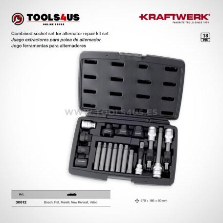 30612 KRAFTWERK herramientas taller barcelona espana Juego extractores polea alternador 01