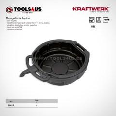30625 KRAFTWERK herramientas taller barcelona espana Recogedor Aceite Liquidos 8litros 01