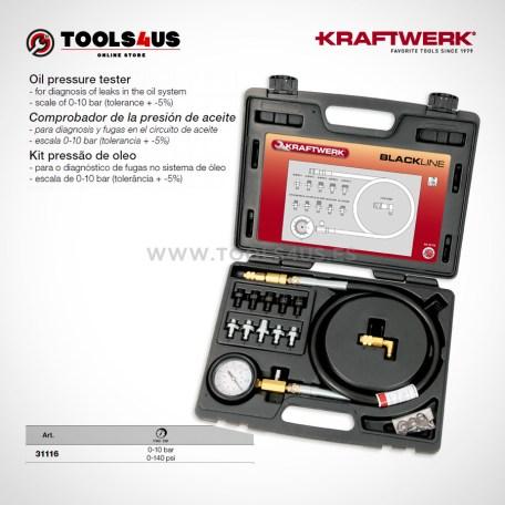 31116 KRAFTWERK herramientas taller barcelona espana Comprobador presion aceite 01