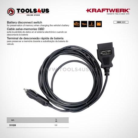 31128 KRAFTWERK herramientas taller barcelona espana cable salva memorias OBD 01