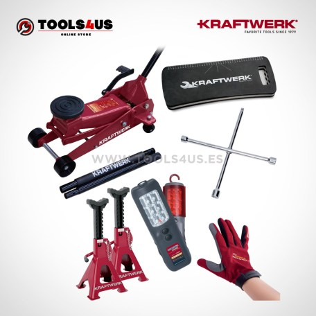38101SET KRAFTWERK herramientas taller barcelona españa Kit Universal para cambio ruedas EVO 01