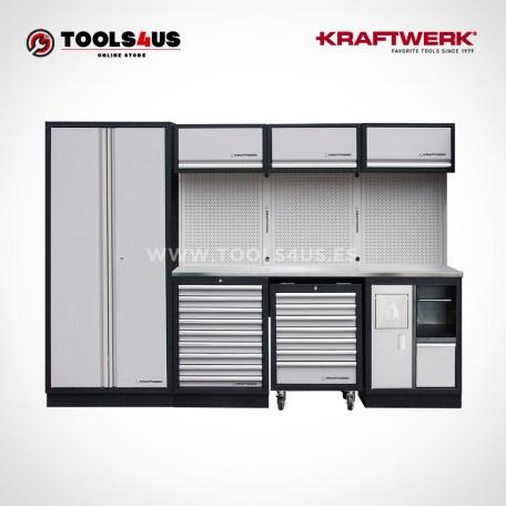 3964DIX Kraftwerk Mueble Modular Taller 4 Elementos INOX 01