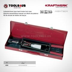 4262 KRAFTWERK herramientas taller barcelona espana Estuche remachadora manual industrial efecto palanca 01