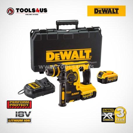 DCH253M2 QW DEWALT martillo electroneumatico a bateria 18v herramientas profesionales _01