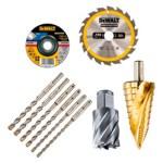consumibles repuestos recambios discos corte lijas brocas puntas dewalt herramientas barcelona españa - CATÁLOGOS COMPLETOS