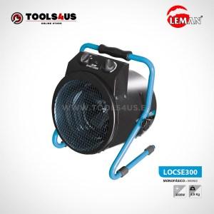 LOCSE300 CALEFACTOR DE OBRA 3000W LEMAN 01