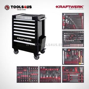 Carro de taller equipado con herramientas profesional automocion industria bicicleteria ebike b407 102400515 01