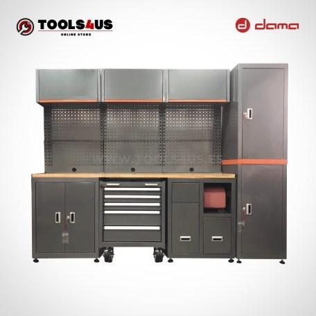 Da1210kitr mueble taller mobiliario taller garage industria profesional herramientas armarios banco de trabajo dama nrstools nrs 01