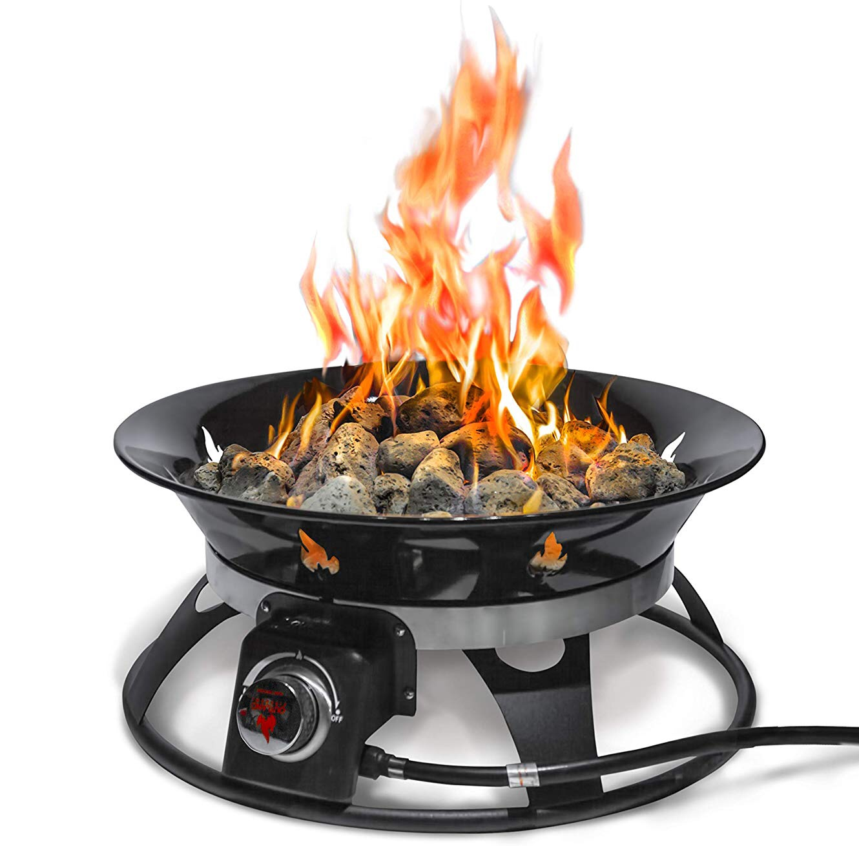 "Outland ""Firebowl Cypress"" Portable Propane Fire Pit ... on Outland Firebowl Propane Fire Pit id=69054"