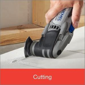 Dremel tool for cutting
