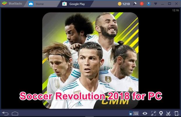 Soccer Revolution 2018 3D Player for PC Windows 10