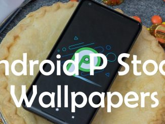 Android P Stock Wallpapers