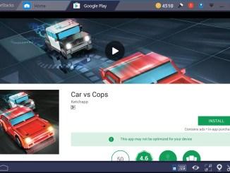 Cars vs Cops PC Windows 10