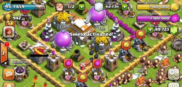 Clash of Clans 10.134.4 mod apk hack