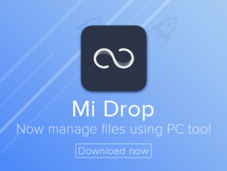 Mi Drop for PC