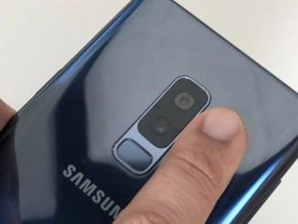 Galaxy S9 Blood Pressure Monitoring App